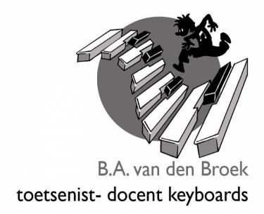 Ben van den Broek Pianoles en Keyboardles