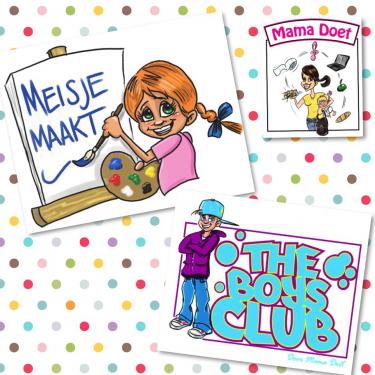 Meisje Maakt & the Boys Club (door Mama Doet)