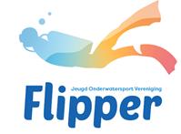 Logo Jeugd Onderwatersport Vereniging Flipper